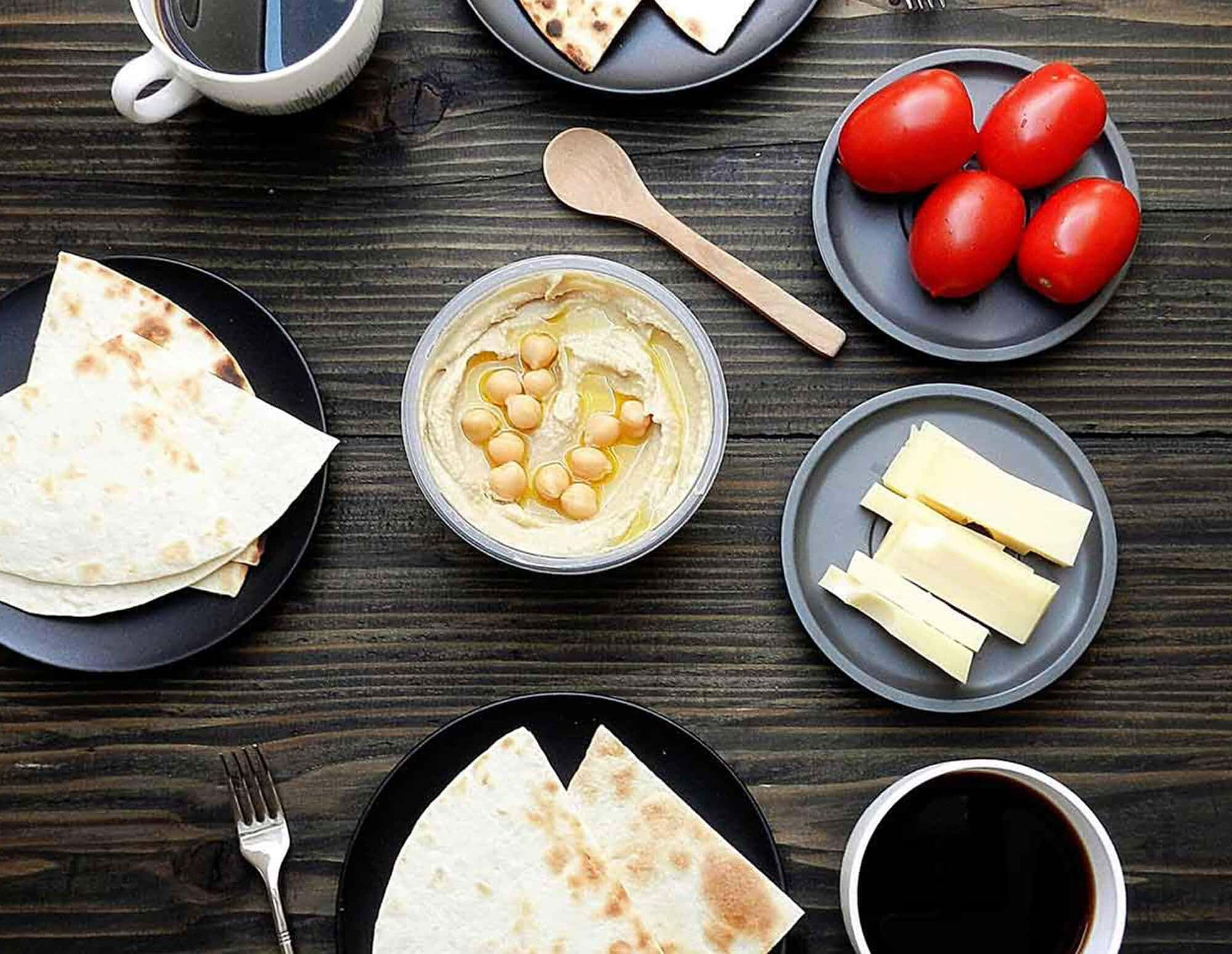 Hummus in recipes of famous chefs