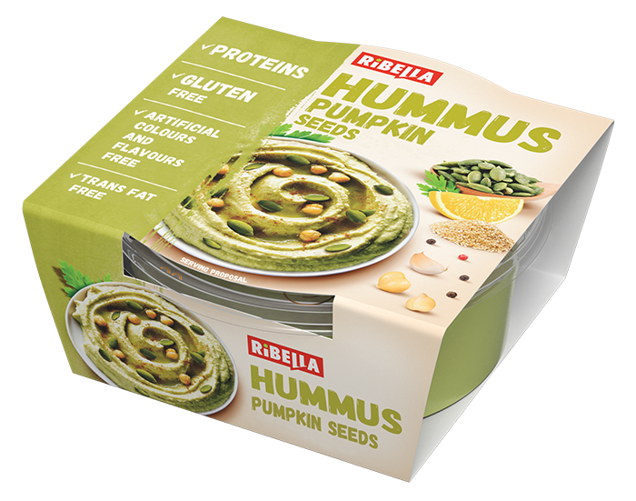 Ribella Hummus with pumpkin seeds