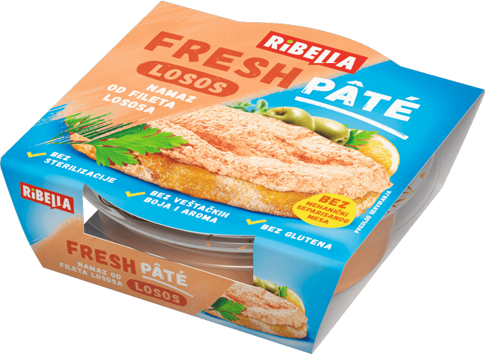 Fresh Pâté namaz od fileta lososa