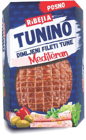 Tunino smoked tuna fillets Mediteran