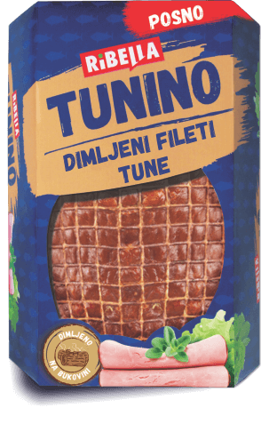 Tunino smoked tuna fillets
