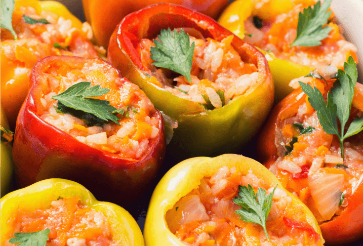 Ribella stuffed peppers
