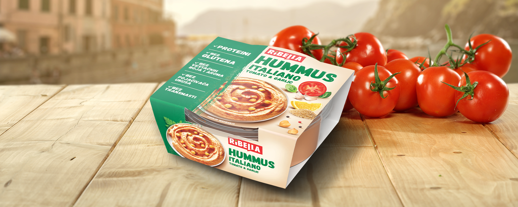 A New Taste for a New Experience – HUMMUS ITALIANO